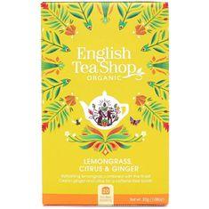 English Tea Shop Citrónová tráva, zázvor & citrusy 20 vrecúšok