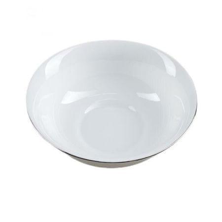 """Kraftika Salatnik """"ezüst"""", 16 × 5 cm, ezüst peremszín"""