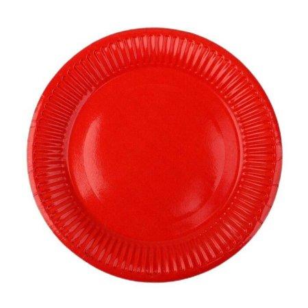 Kraftika 10 sztuk, płyta papieru, stałe, kolor czerwony