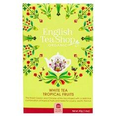 English Tea Shop Biely čaj bio s tropickým ovocím 20 sáčků