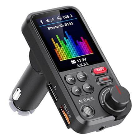 Akai FMT-93BT Nadajnik połączeń i audio LCD, FMT-93BT Nadajnik połączeń i audio LCD