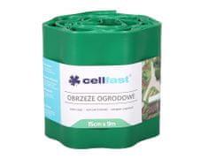 Cellfast Obruba plastová zelená 9 x 0,15 m