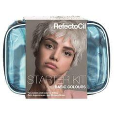 Refectocil Starter set za barvanje obrvi in trepalnic Basic Colours