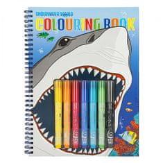 Dino World Kifestőkönyv | Víz alatti világ kifestőkönyv, 7x fix