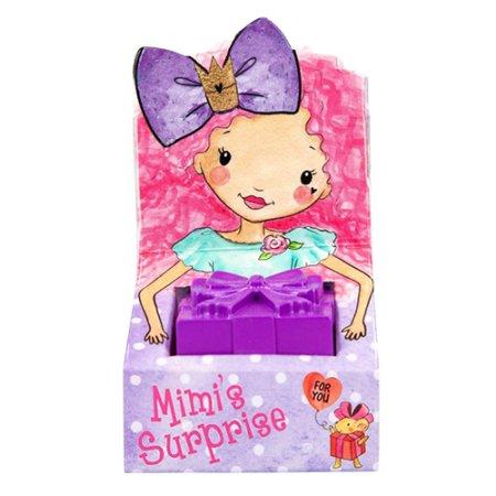 Princess Mimi Mimi meglepetése - oldódoboz meglepetéssel, lila