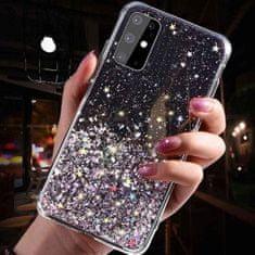 Sparkle ovitek za iPhone 12 Pro Max, črn, z bleščicami