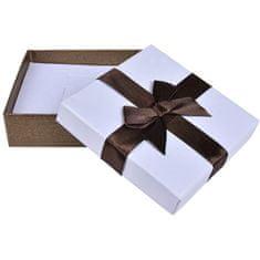 Jan KOS Brązowe pudełko na zestaw biżuterii AP-5 / A21