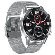 NEOGO SmartMove 5, smart hodinky, strieborné/kovové