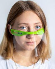 Babys SCHOOLMASK MP / 003 / C2 / ZELENÁ/ FP021 MINI, ochranná maska, 2 ks