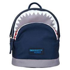 Dino World Hátizsák Underwater World - cápafej, Kék, szájkosárral