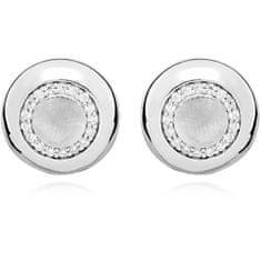 JVD Minimalistické stříbrné náušnice pecky SVLE0351SH8BI00