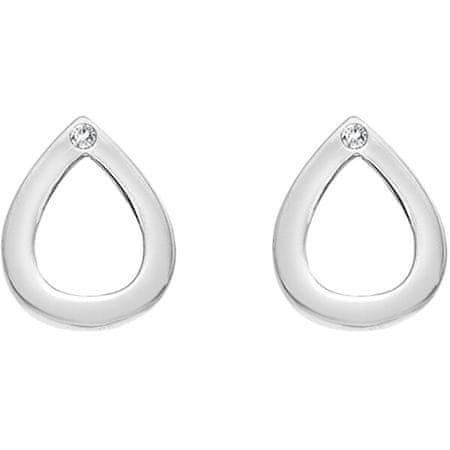 Hot Diamonds Ezüst csepp fülbevalók valódi gyémántokkal. Amulets DE615