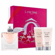 Lancome La Vie Est Belle parfemska voda, 50 ml + gel za tuširanje, 50 ml + losion za tijelo, 50 ml