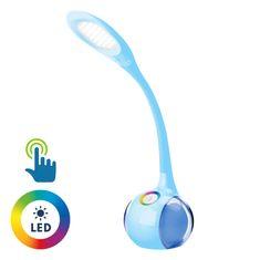 Platinet PDL20 stolna LED + noćna svjetiljka, plava