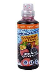 Syphon Malina a černica prémiový BIO sirup Natur Slim 500 ml