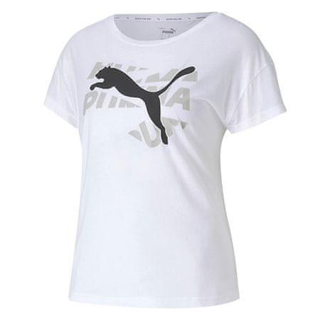 Puma Moderna športna grafična majica, 583536 | 02 | Moški | bela | XS