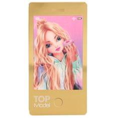 Top Model Zápisník ASST, Christy, 3D motív, zlatý