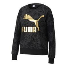 Puma Bluza Classics Graphics AOP Crew, 597728   01   Kobieta   czarny   L