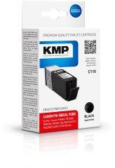 KMP Canon PGI-580PGBK XXL (Canon PGI 580PGBK XXL) černý pigmentový inkoust pro tiskárny Canon