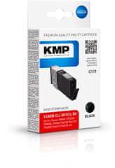 KMP Canon CLI-581BK XXL (Canon CLI 581BK XXL) černý pigmentový inkoust pro tiskárny Canon