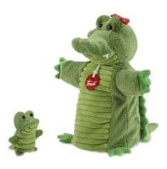 Trudi Trudy - Maňásek s mláďátkem Krokodýl