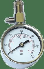 Bottari Pneuměřič SATURN kovový stříbrný 5cm
