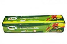 Mirel Vratimov Potravinová fólie Fresh\'n\'Roll - krabička s funkční řezačkou - 30 cm/100 m