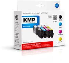 KMP Canon CLI-581 Bk/C/M/Y XXL Multipack (Canon CLI 581 Bk/C/M/Y XXL Multipack)
