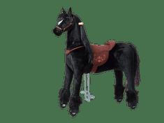Ponnie Jeżdżący mechaniczny koń Ebony XL profi