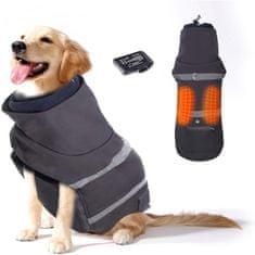 Bezdoteku Vyhrievaný oblečenie pre psov Savior šedý vel. S
