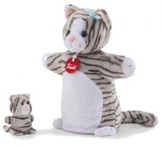 Trudi Trudy - Maňásek s mláďátkem Kočka