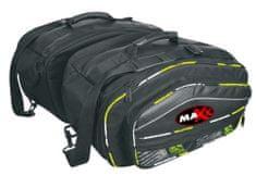 MAXX AT 7020 Textilní sedlové boční brašny