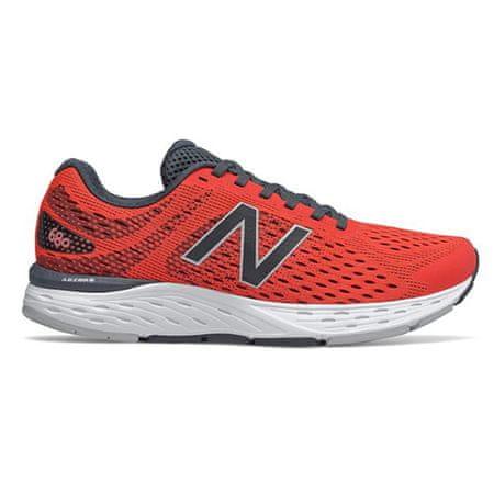 New Balance Čevlji M680DL6, MOŠKI | TEČANJE | ORANŽNA (810) | Združeno kraljestvo 7,5 | 41,5 EUR ZDA 8