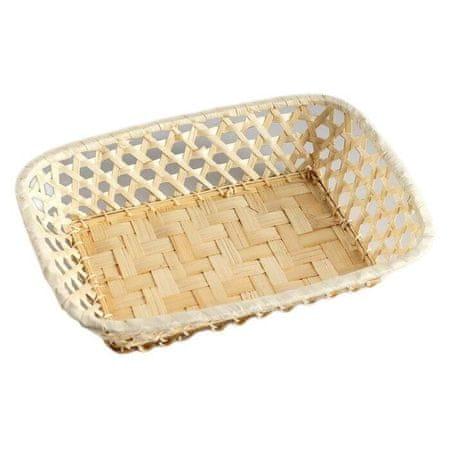 "Kraftika Breadcrumb ""weave"", 17 × 23 × 5 cm, bambusz"