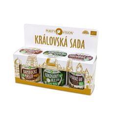 Purity Vision Zestaw królewski (Bambucké máslo, Raw kokosový olej, Farmářské Ghí )
