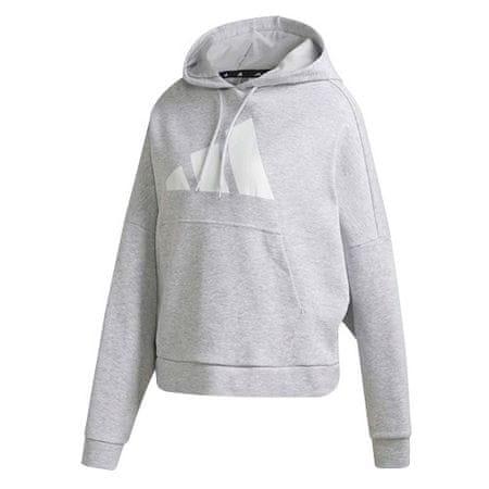 Adidas Bluza z kapturem W UR, Bluza z kapturem W UR | FS2444 | LGREYH | XS