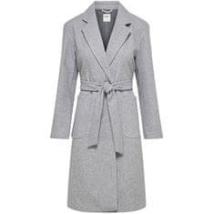 ONLY Dámský kabát ONLTRILLION 15223775 Light Grey Melange