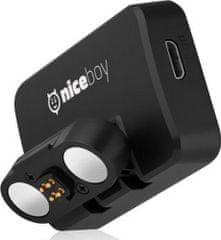 Niceboy Magnetický držiak s GPS pre Niceboy Pilot XRS, čierna