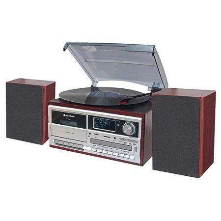 Roadstar HIF-8892 D + BT Stol. lemezjátszó CD / MP3-val, HIF-8892 D + BT Stol. lemezjátszó CD / MP3-val