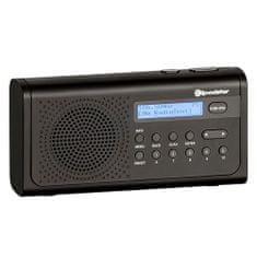 Roadstar TRA-300D + / BK rádió DAB + / FM, LCD, TRA-300D + / BK rádió DAB + / FM, LCD