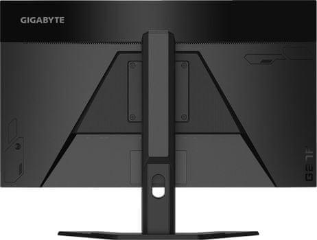 Gaming monitor Gigabyte G27F (G27F) popoln vidni kot hdr visok dinamičen razpon črni izenačevalnik 1 ms odzivni čas elegantna oblika ukrivljen dizajn popolne barve gameassist black izenačevalnik anc zatiranje hrupa v okolju, ergonomsko stojalo