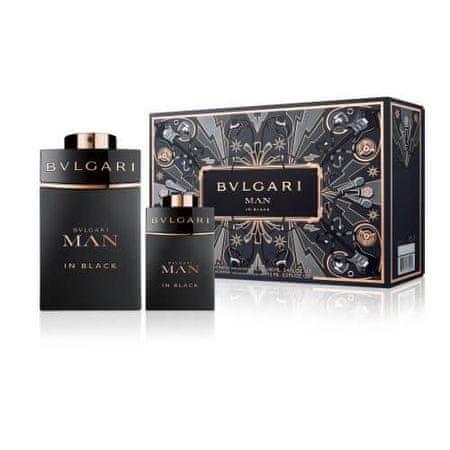 Bvlgari Man In Black parfumska voda, 100 ml + parfumska voda, 15 ml