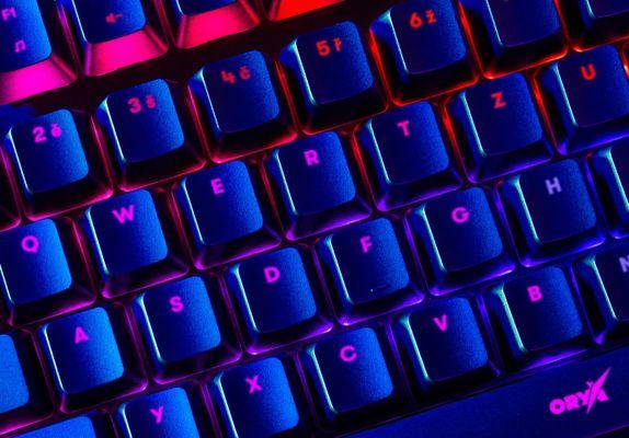 Herná klávesnica Niceboy ORYX K610 Chameleon (oryx-k-610-chameleon)