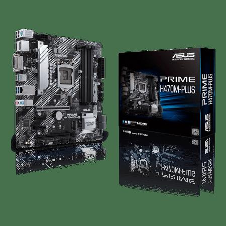 Asus PRIME H470M-PLUS osnovna plošča, LGA1200, DDR4, mATX