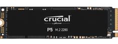 Crucial P5 SSD disk, 2 TB, M.2 2280 PCIe NVMe