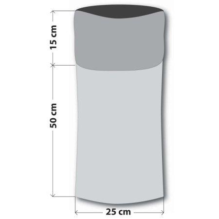 Sulov ovratnik-tuba, temno moder