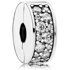 Pandora Třpytivý korálek 791817CZ stříbro 925/1000