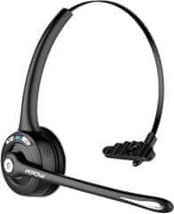 MPOW PRO Business headset - bezdrátová sluchátka, černá