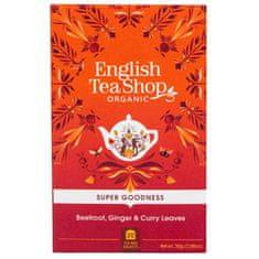 English Tea Shop Červená repa, zázvor a karí Veggie čaj 20 sáčkov