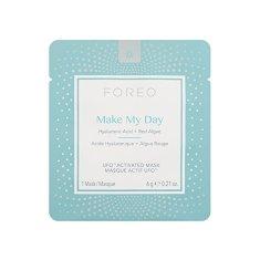 FOREO Ápoló arcmaszk hidratáló hatássalUFO Make My Day (Activated Mask) 7 x 6 g